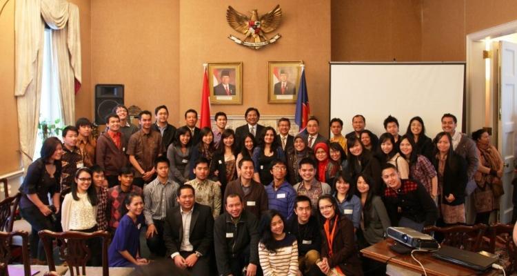 Rapat Kerja PPI UK di London  Indonesian Education and Culture Attaché in London