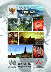 Free Indonesian Language Class