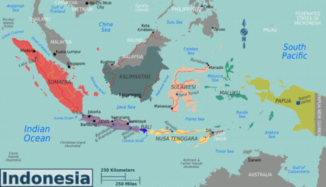 Indonesia Region Maps (Source: http://en.wikivoyage.org/wiki/Indonesia)