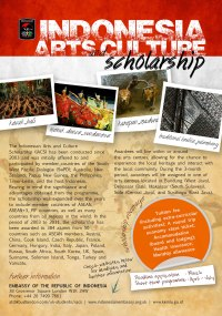 Indonesia Arts Culture Scholarship