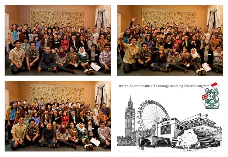 Peserta temu alumni ITB di UK, London 2013. (Foto: Panitia/Tika Hasan)