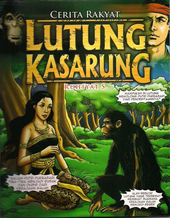 Buku 8 Cover Cerita Rakyat Lutung Kasarung Indonesian Education