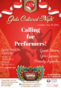 Gala Cultural Night 2013