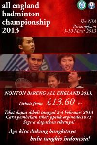 Nonton Bareng All England 2013