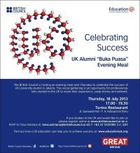 UK Alumni Buka Puasa Bersama 2013