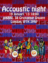 Indonesian Acoustic Night 2013