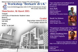 Workshop Berkarir di UK