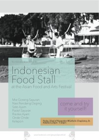 Indonesian Food Stall PPI Oxford