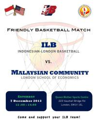 ILB-Malaysian Soc Basketball Game 2013