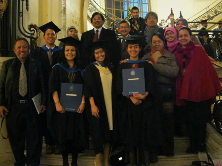 Wisuda Musim Dingin Brunel University