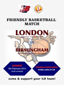 Friendly Basketball Match PPI London vs PPI Birmingham