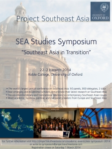 Southeast Asian Studies Symposium 2014