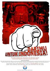 "Call for Essay ""Darimu untuk Indonesia!"", March 2014"