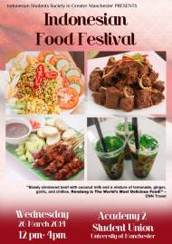 Indonesian Food Festival 2014, Manchester, 26 March 2014