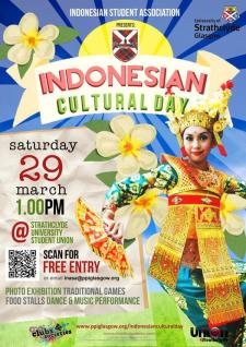 Indonesian Cultural Day by PPI Glasgow