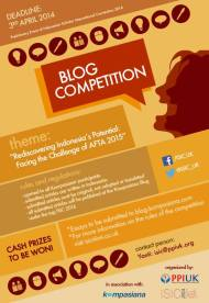PPIUK Blog Competition, Deadline 3 April 2014