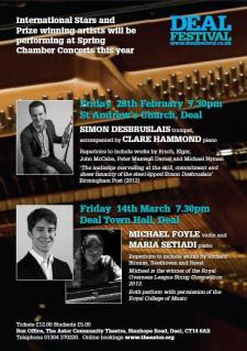 Spring Chamber Concert by Deal Festival