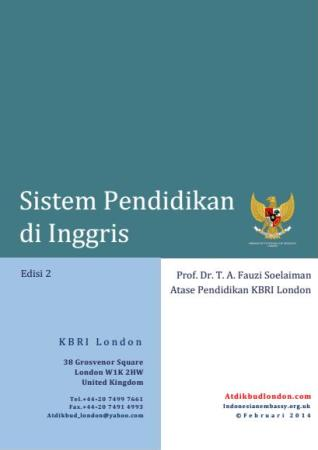 Cover Buku Sistem Pendidikan di Inggris-Edisi 2