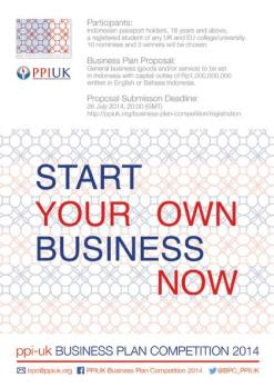 PPI UK Business Plan Competition 2014
