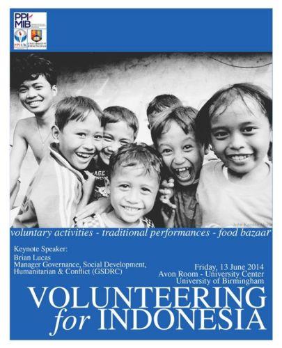 Volunteering Indonesia 2014