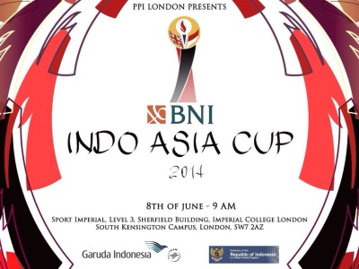 BNI Indo Asia Cup 2014