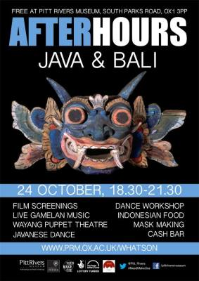 After Hours Java & Bali 2014