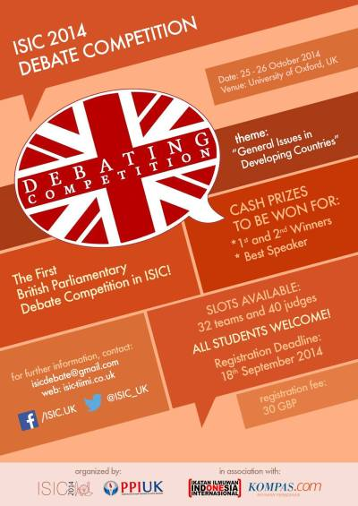 ISIC 2014 Debate Competition