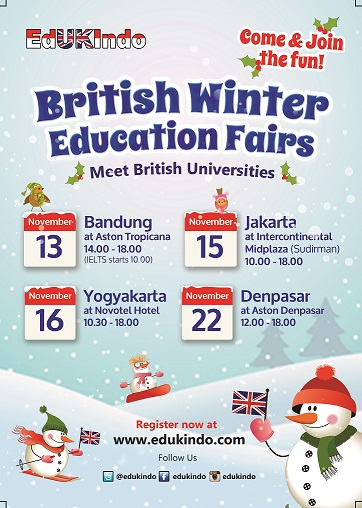 British Winter Education Fair 2014