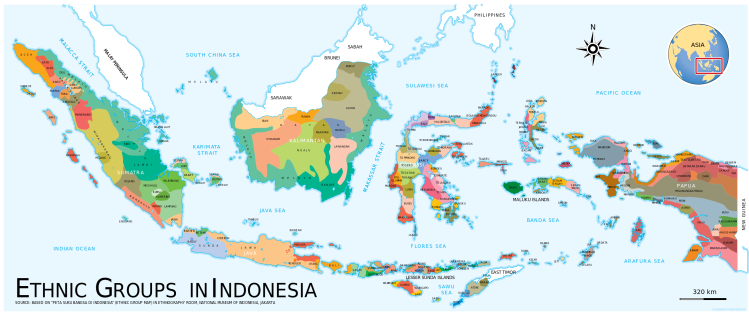 Ethnic group diversity-Indonesia