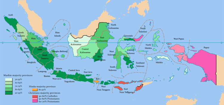 Religion diversity-Indonesia
