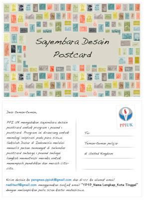 Sayembara Postcard PPI UK 2015