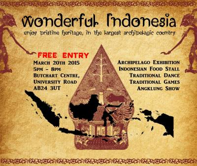 PPI Aberdeen Wonderful Indonesia 2015