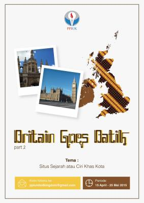 Britain Goes Batik PPI UK April 2015