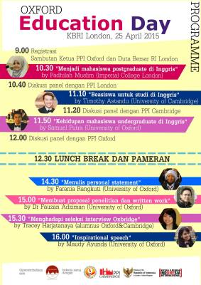 Oxford Education Day 2015-2nd version