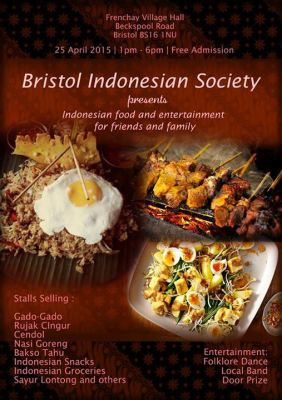 PPI Bristol Indonesian Food and Entertainment Festival 2015