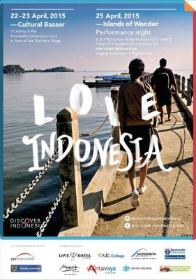 PPI Newcastle Discover Indonesia 2015