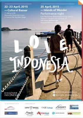 PPI Newcastle Discover Indonesia 2015