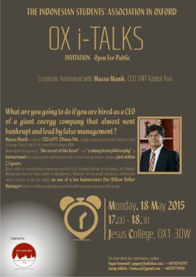 PPI Oxford OX i-Talks 2015