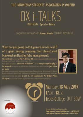 PPI Oxford OX i-Talks 2015