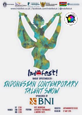 Indofest 2015-Indonesian Contemporary Talent Show