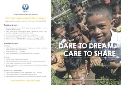 Dare to Dream_Care to Share 2015-To Protect Indonesian Children's Right