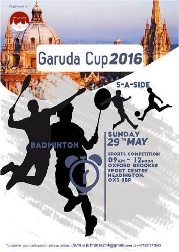 PPI Oxford Garuda Cup 2016