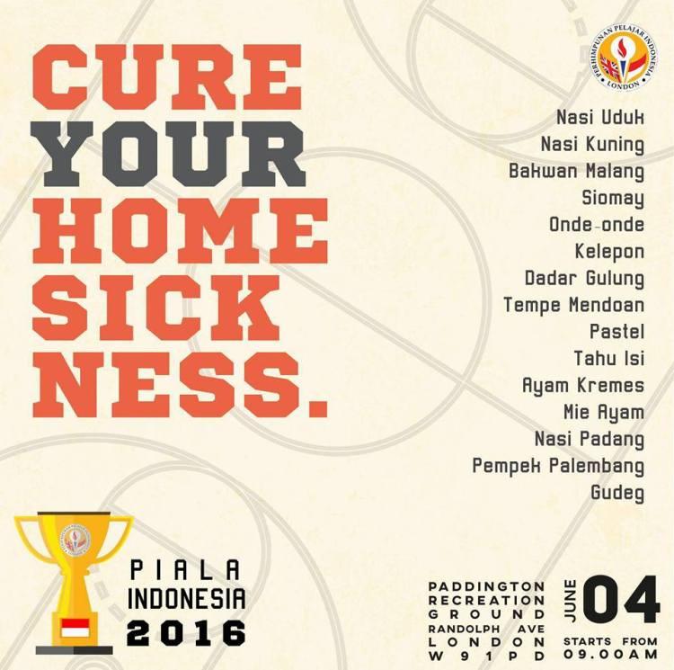 PPI London Piala Indonesia 2016-final