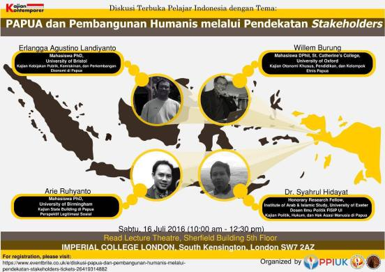 PPI UK Diskusi Terbuka-Papua