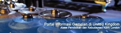 Portal Informasi Gamelan di UK